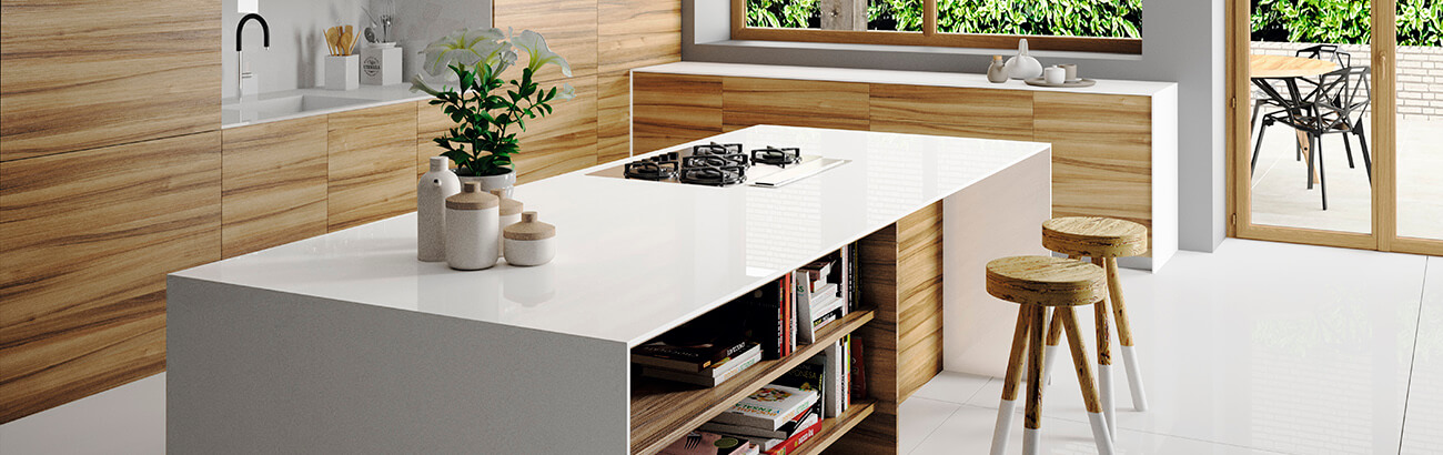 Silestone Iconic White
