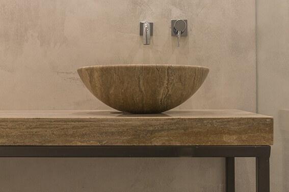 Merchant Suites , Halmann Vella, Patterned tiles, Marble , Bathrooms