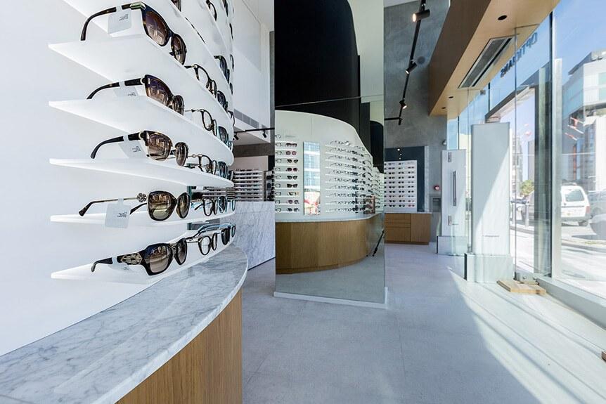 Optika Opticians, Halmann Vella, Marble