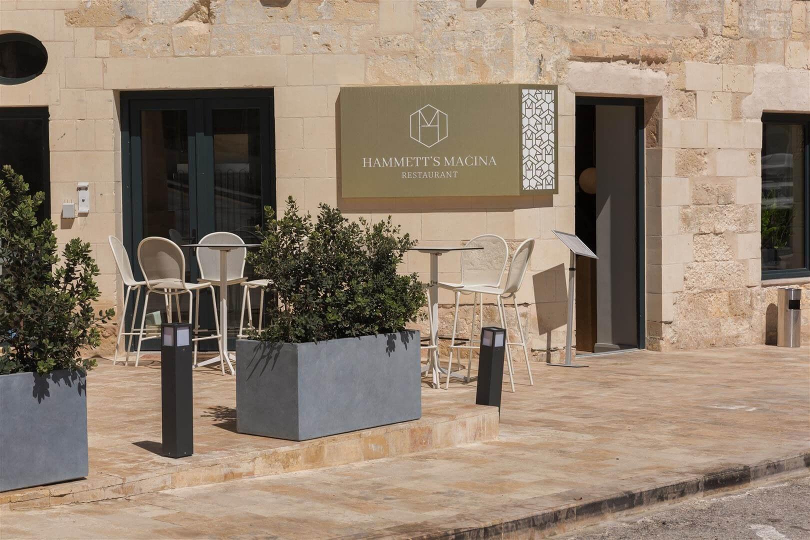 Hammett's gastro bar, Halmann Vella, Marble, Restaurant, Malta