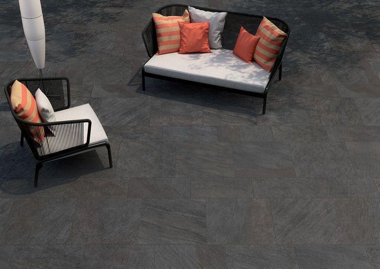 Ceramic flooring Halmann Vella Ceramiche Keope Percorsi Quartz