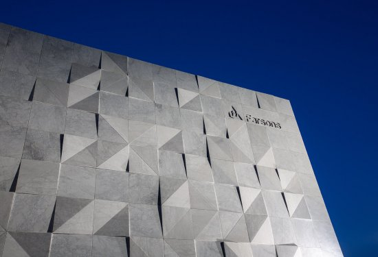Farsons Corporate Office Building - Bianco Carrara Marble facade