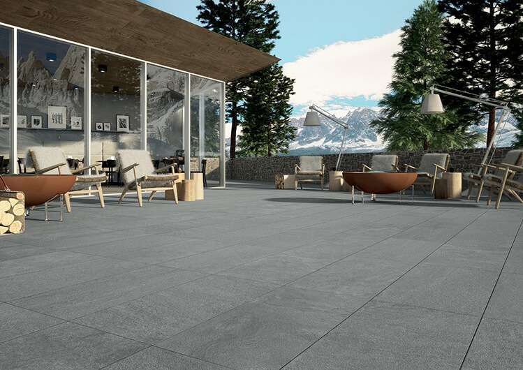 Outdoor Ceramic Tiles Halmann Vella Marca Corona Matrix